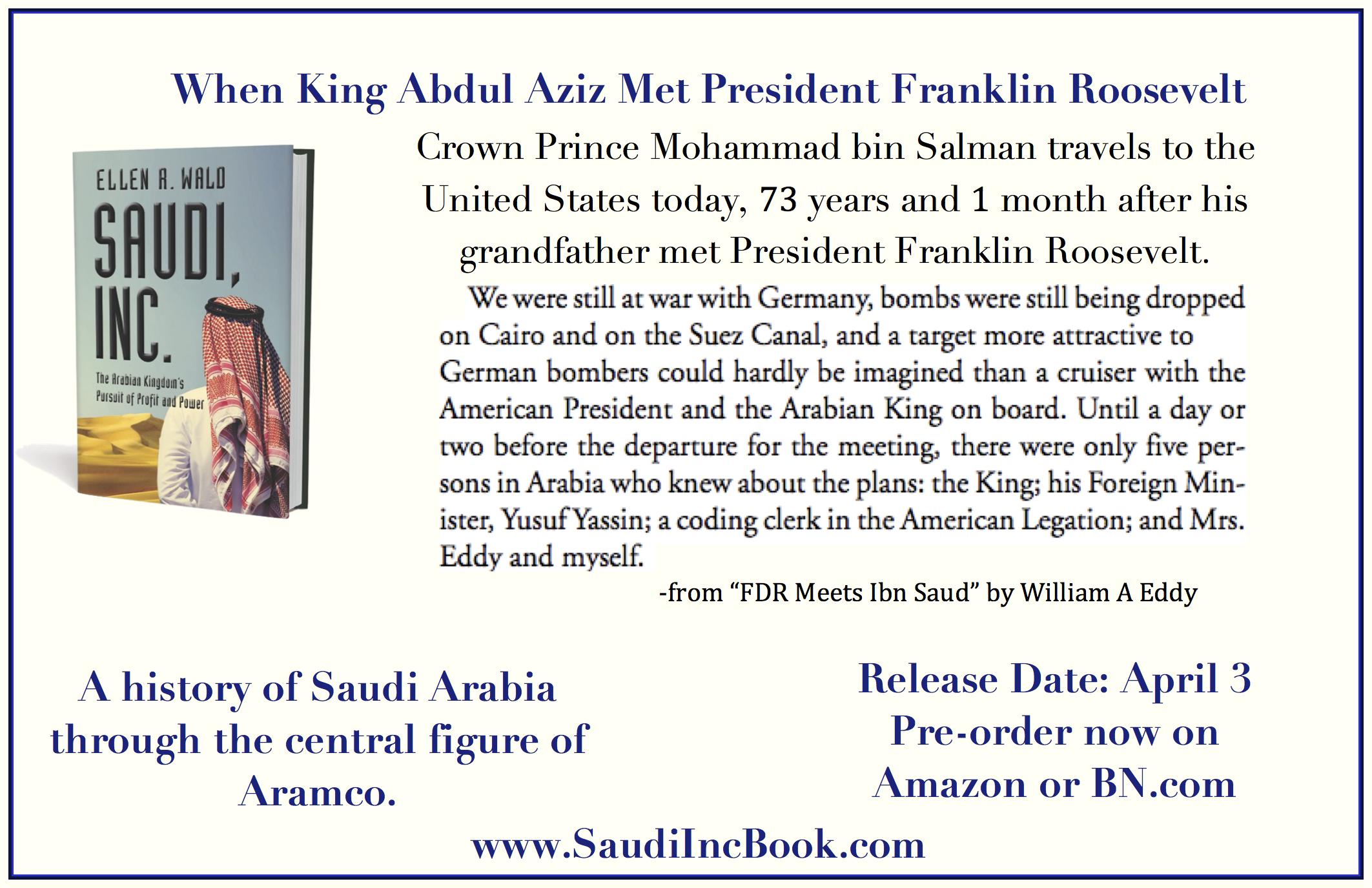 Saudi, Inc. Eddy
