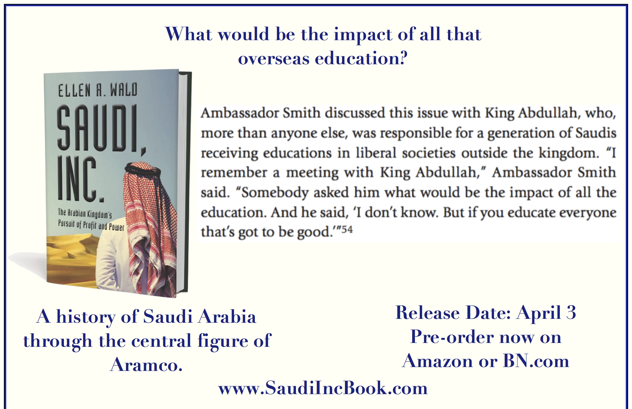 Saudi Inc education